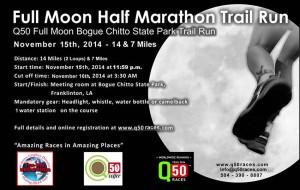 Full Moon Half Marathon 2014 BLACKweb